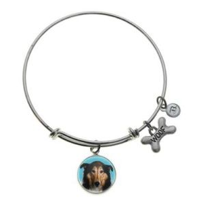 B. Berish Collie Silver Bangle Bracelet